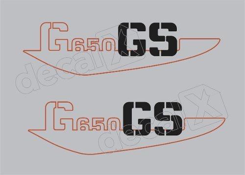 emblema adesivo bmw g650 gs branca par bwg650gs03