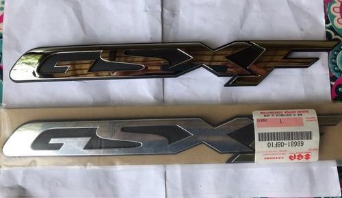 emblema adesivo carenagem suzuki gsx750f gsx 750 f original