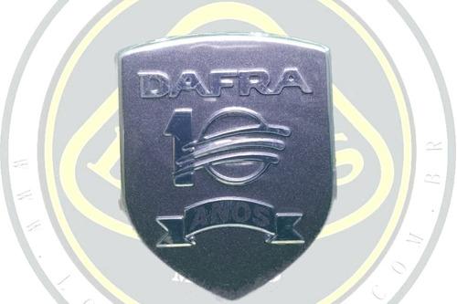 emblema adesivo comemorativo 10 anos dafra maxsym 400 original 51551-t42-001 com nota