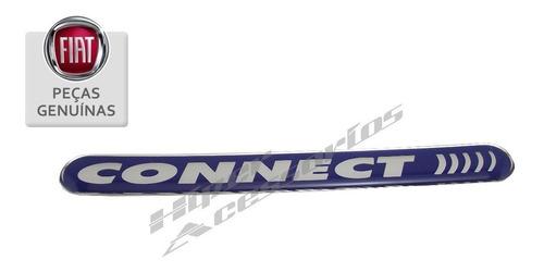 emblema adesivo connect stilo original fiat