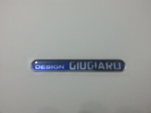 emblema adesivo design giugiaro resinado stilo e punto