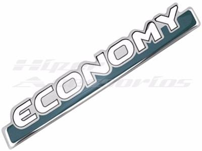 emblema adesivo economy resinado uno mille fiat
