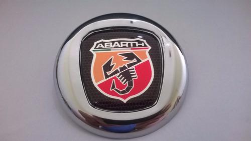 emblema adesivo fiat abarth p/ grade strada 01/07 - bre