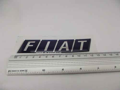 emblema adesivo fiat resinado mala mille e tipo 1.6 mpi