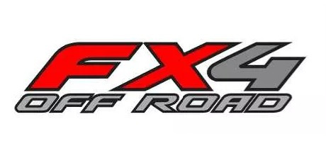emblema adesivo fx4 off road f-250 importada