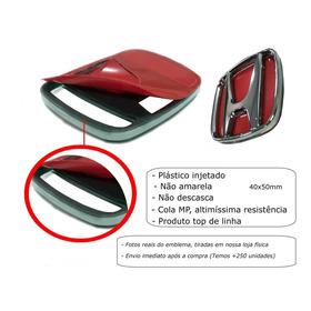 Emblema Adesivo H Honda Volante Fit City New Civic Hrv Wrv