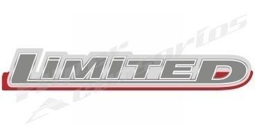 emblema adesivo limited pick-up ranger 2010 em diante