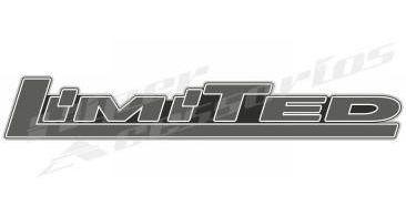 emblema adesivo limited ranger power stroke 2007 a 2009