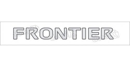 emblema adesivo nissan frontier tampa traseira