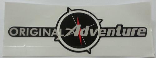 emblema adesivo original adventure strada palio pequeno
