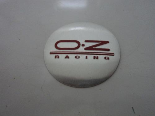 emblema adesivo   oz  para rodas esportivas 55mm