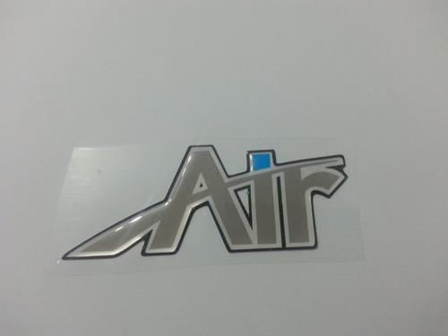 emblema adesivo resinado air clio- frete grátis