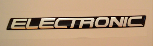 emblema adesivo resinado electronic uno mille eletronic fiat