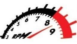 emblema adesivo rpm aplicação universal- preto ou branco