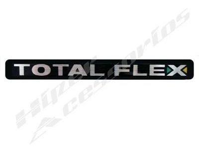 emblema adesivo total flex gol parati saveiro fox