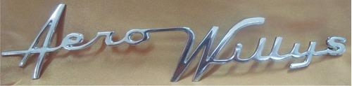 emblema aero willys