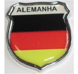 emblema alemanha escudo resinado e cromado