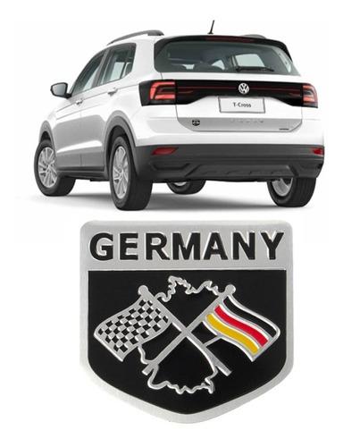 emblema alemanha racing vw jetta golf gol fox fusca bmw