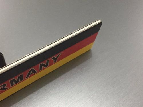 emblema  alemenha germany - vw audi bmw mercedes benz