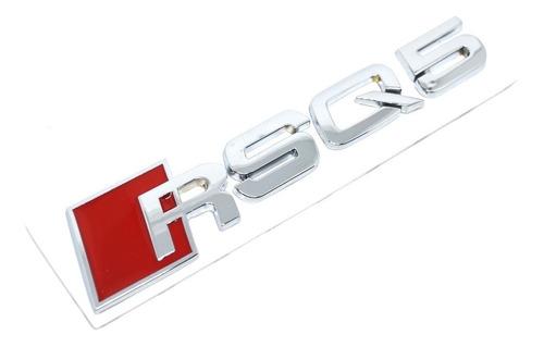 emblema audi rsq5 original tampa traseira quattro