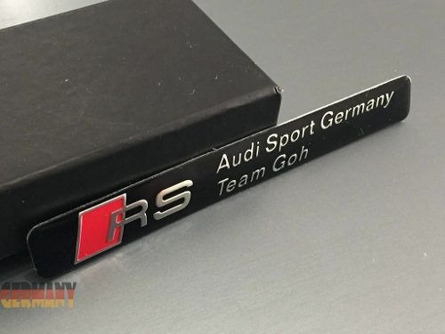 emblema audi sport rs - a1 a3 a4 a5 a6 a8 s3 s4 tt tts