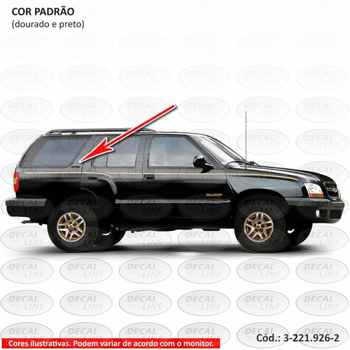 emblema auto adesivo executive 2001 - resinado