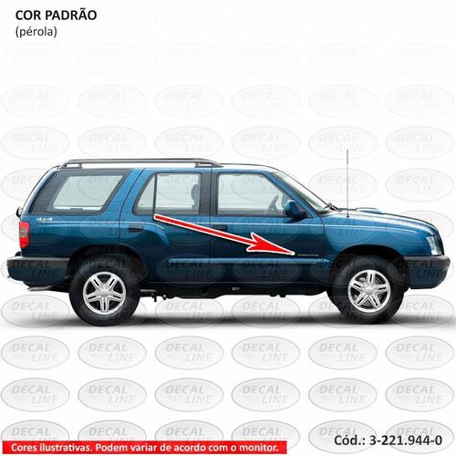 emblema auto adesivo executive 2007 - resinado