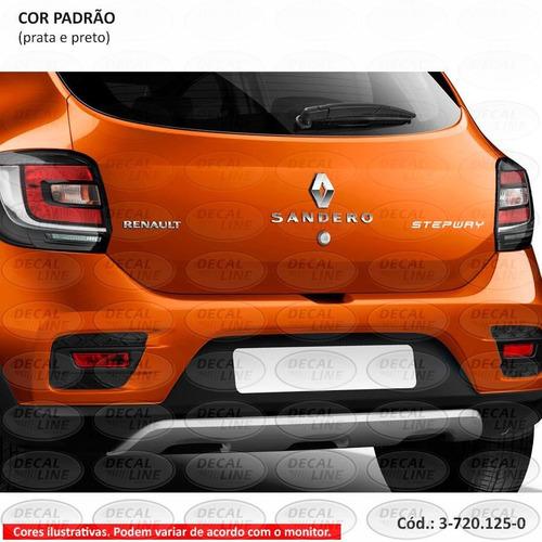 emblema auto adesivo stepway - sandero