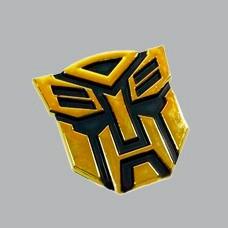 emblema autobot dorado transformers