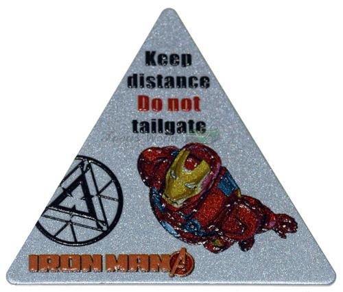 emblema avengers iron man - homen de ferro vingadores 2
