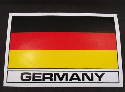 emblema bandeira alemanha - germany  adesivo bmw audi