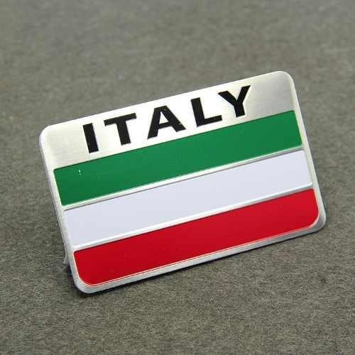 emblema bandeira itália - fiat 500 argo cronos toro mobi