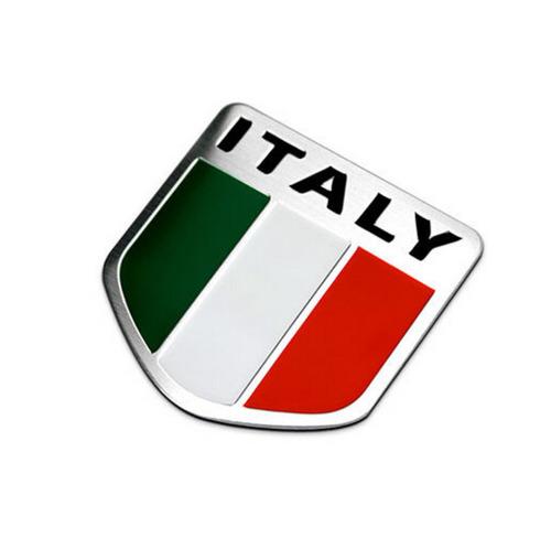 emblema bandeira itália fiat 500 uno palio linea punto argo