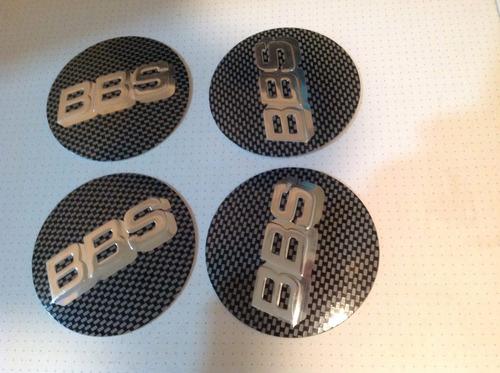 emblema bbs para rodas esportivas 70 mm