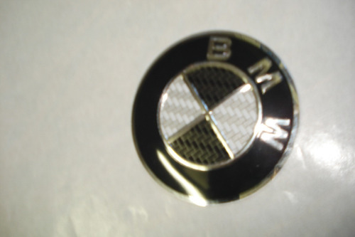 emblema bmw para rodas esportivas 65mm modelo novo