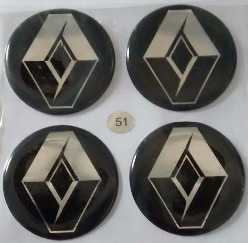 emblema calota roda 51mm