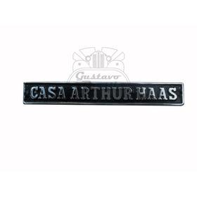 Emblema Casa Arthur Haas