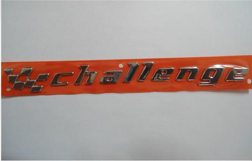 emblema challenge p/ chevrolet linha 96/... - bre