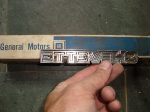 emblema chevette origianal gm de metal