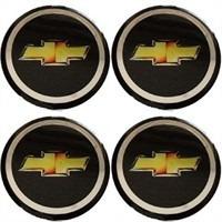 emblema chevrolet botom calota roda resinado 48mm ou 55mm