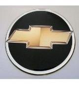 emblema chevrolet chave canivete resinado - frete grátis.