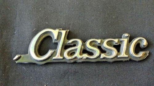 emblema chevrolet classic 4v