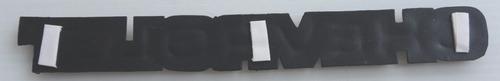 emblema chevrolet mide 22.5 x 2.5 cms taiwanes 4v