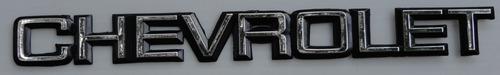 emblema chevrolet mide 25 x 2.5 cms taiwanes