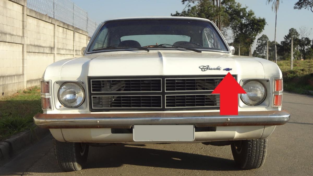 Emblema Chevrolet Opala Caravan 75 A 79 Gravatinha Capo R 50 00