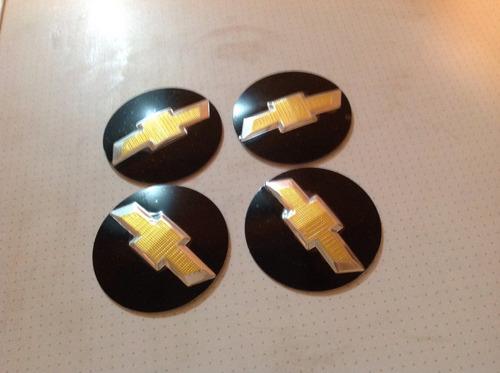 emblema chevrolet  para rodas esportivas 65mm