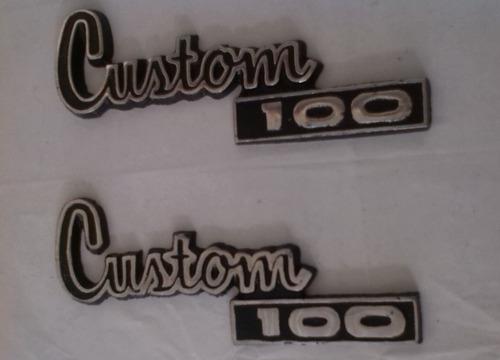 emblema custom 100