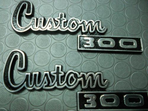 emblema custom 300