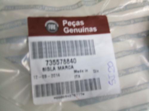 emblema da tampa traseira fiat novo palio essence 2012 13 14