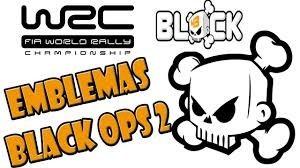 emblema de calavera k. block de rally